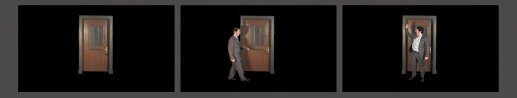 """Videostill aus """"Tür auf, Tür zu"""" von Torsten Bruch"""