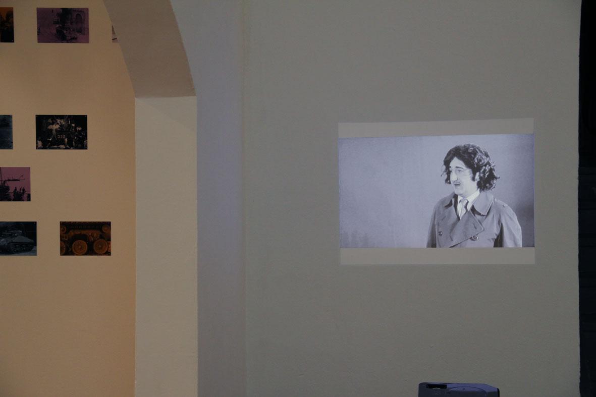 Ausstellungsansicht in der Galerie der IG Bildende Kunst Wien